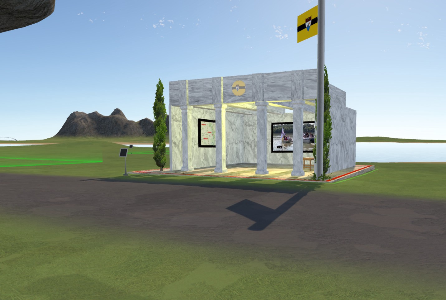 Free Republic of LIBERLAND opens its first virtual embassy inside Somnium Space 2