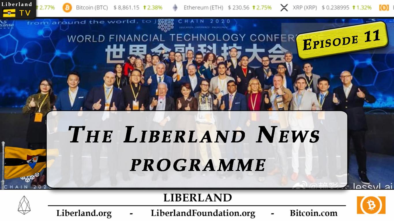 Header Episode 11 Youtube Liberland News Programme