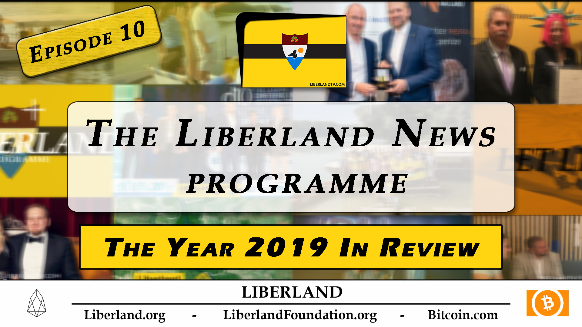 Liberland News Programme Episode 10 The Year 2019 in Review - Liberland TV bitcoin crypto blockchain