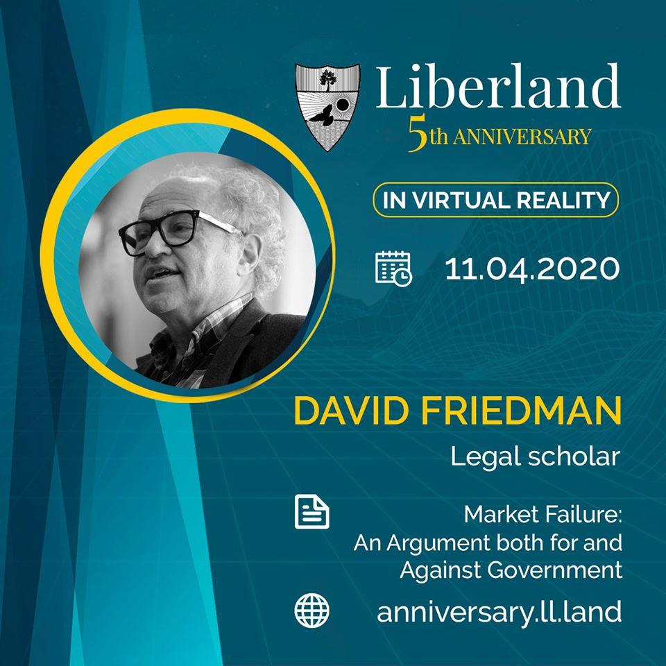 5th Anniversary Of Free Republic of Liberland in VR David Friedman bitcoin btc blockchain somnium space crypto