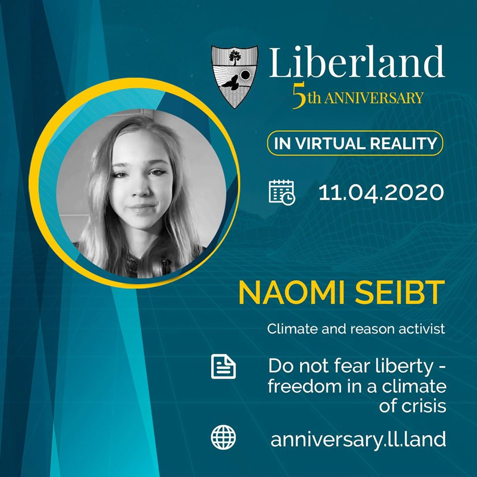 5th Anniversary Of Free Republic of Liberland in VR Naomi Seibt bitcoin btc blockchain somnium space crypto