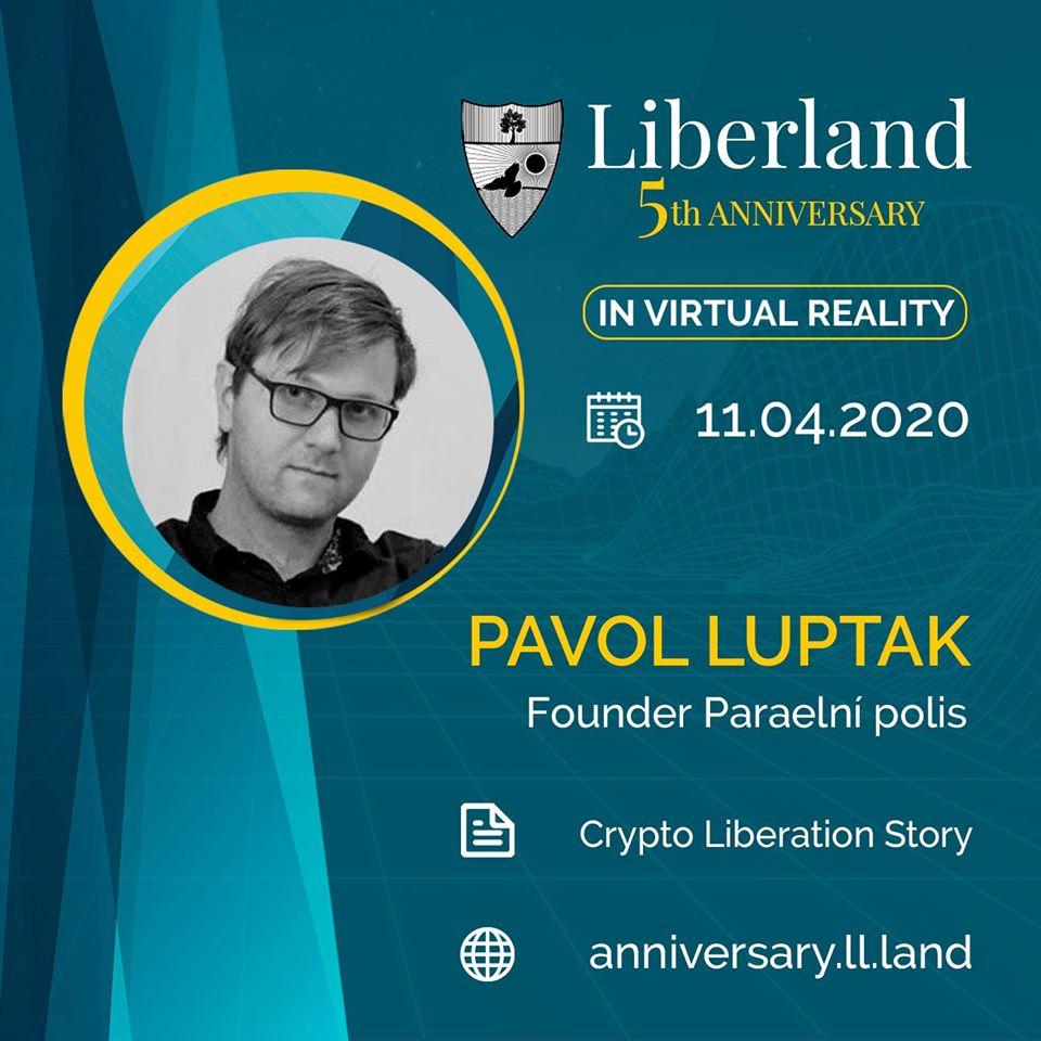 5th Anniversary Of Free Republic of Liberland in VR Pavol Lupták bitcoin btc blockchain somnium space crypto