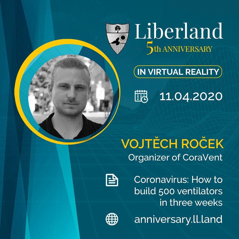 5th Anniversary Of Free Republic of Liberland in VR Vojtěch Roček bitcoin btc blockchain somnium space crypto