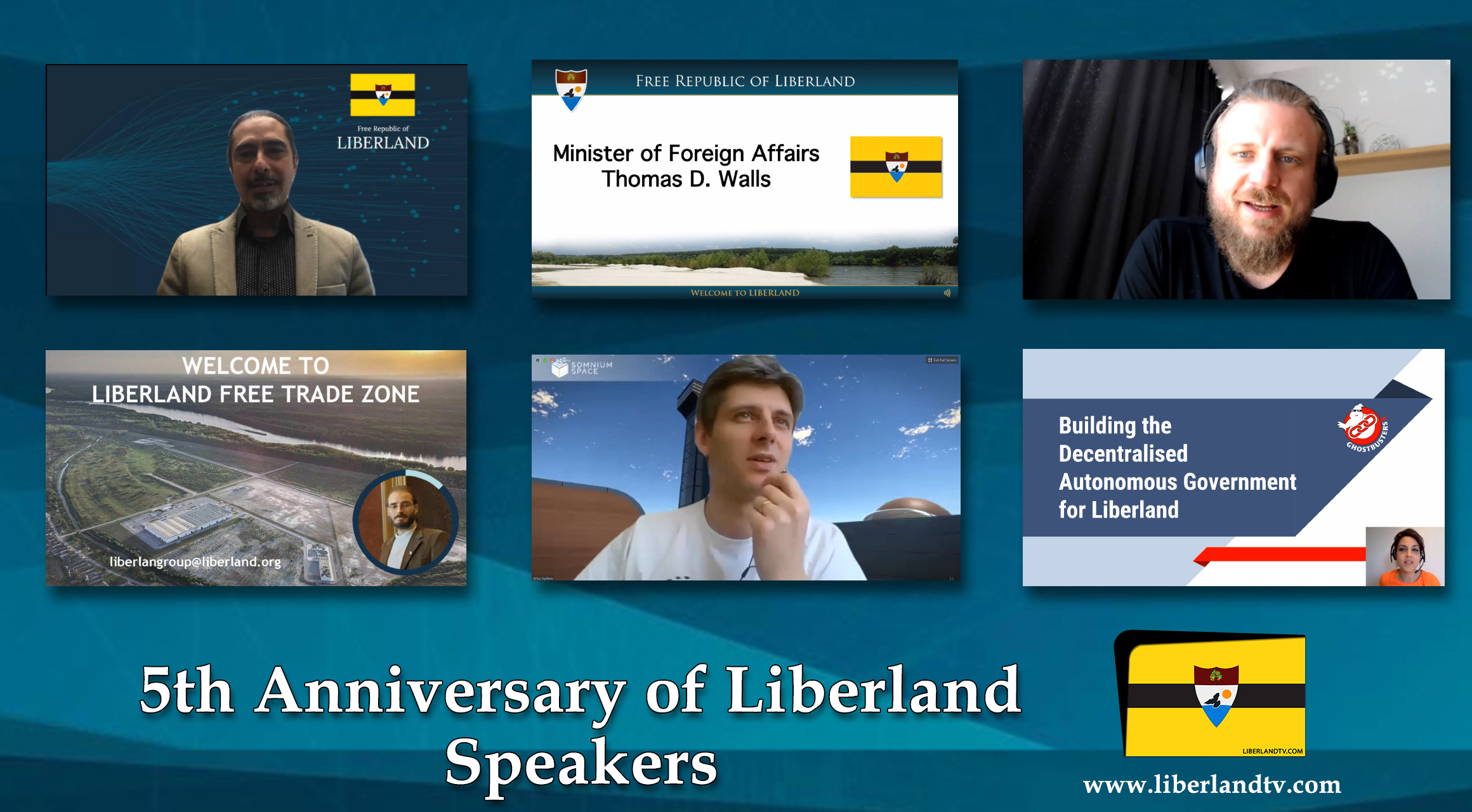 5th Anniversary Of Free Republic of Liberland in VR president of Liberland, Vít Jedlička Roger Ver bitcoin btc blockchain somnium space crypto 2