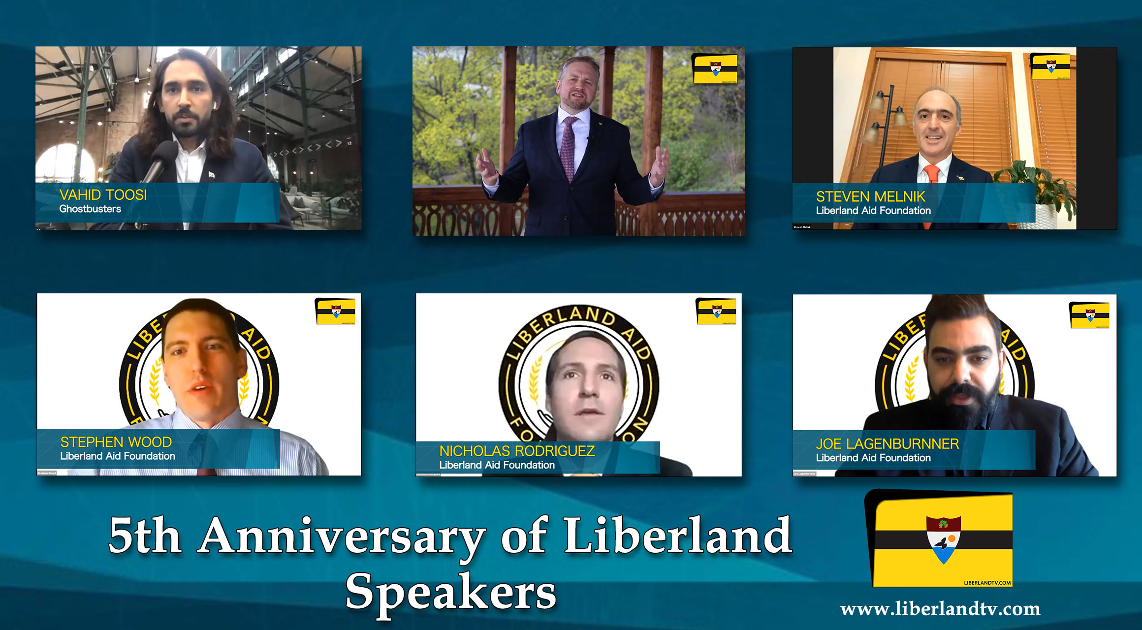 Speakers - 5th Anniversary Of Free Republic of Liberland in VR president of Liberland, Vít Jedlička Roger Ver bitcoin btc blockchain somnium space crypto 2