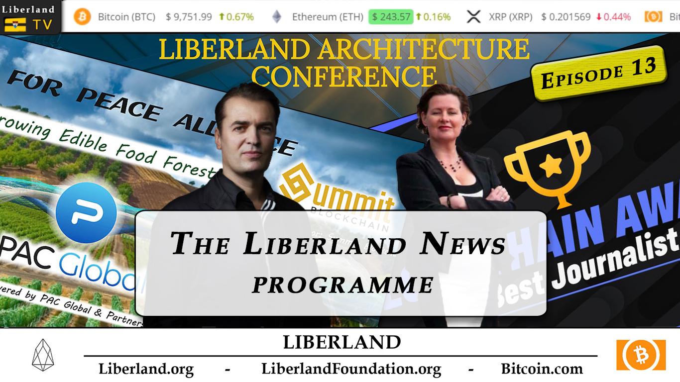 Liberland News Programme Episode 13 - Liberland TV bitcoin blockchain crypto republic freedom libertarianism