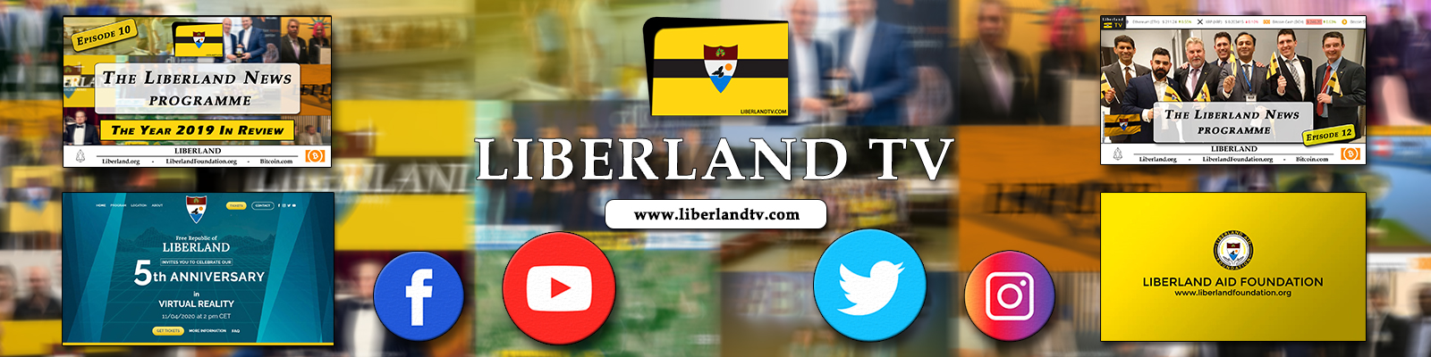 Liberland Tv Free Republic of Liberland advertising bitcoin blockchain libertarian crypto