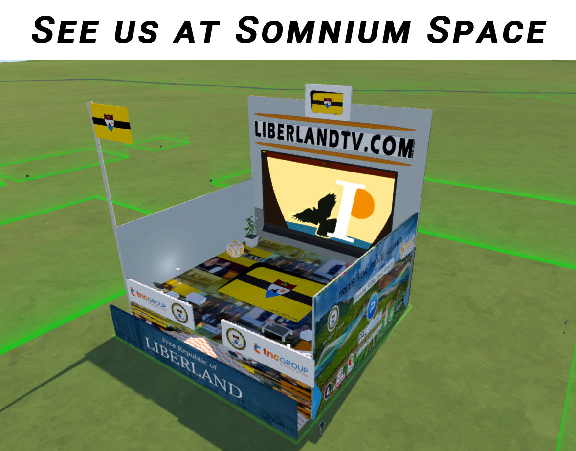 Liberland TV in Somnium Space