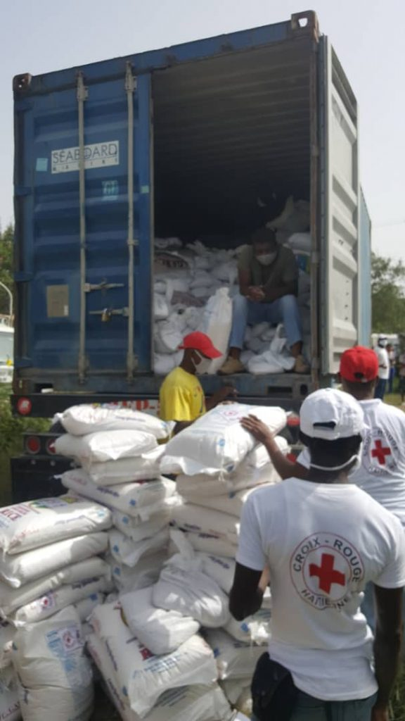 Liberland Aid Foundation LAF delivers food to Haiti donate help 4